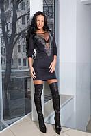 Стильное платье с открытой спинкой, фото 1