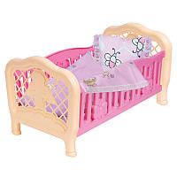 "Кроватка для куклы 4494 ""ТехноК """