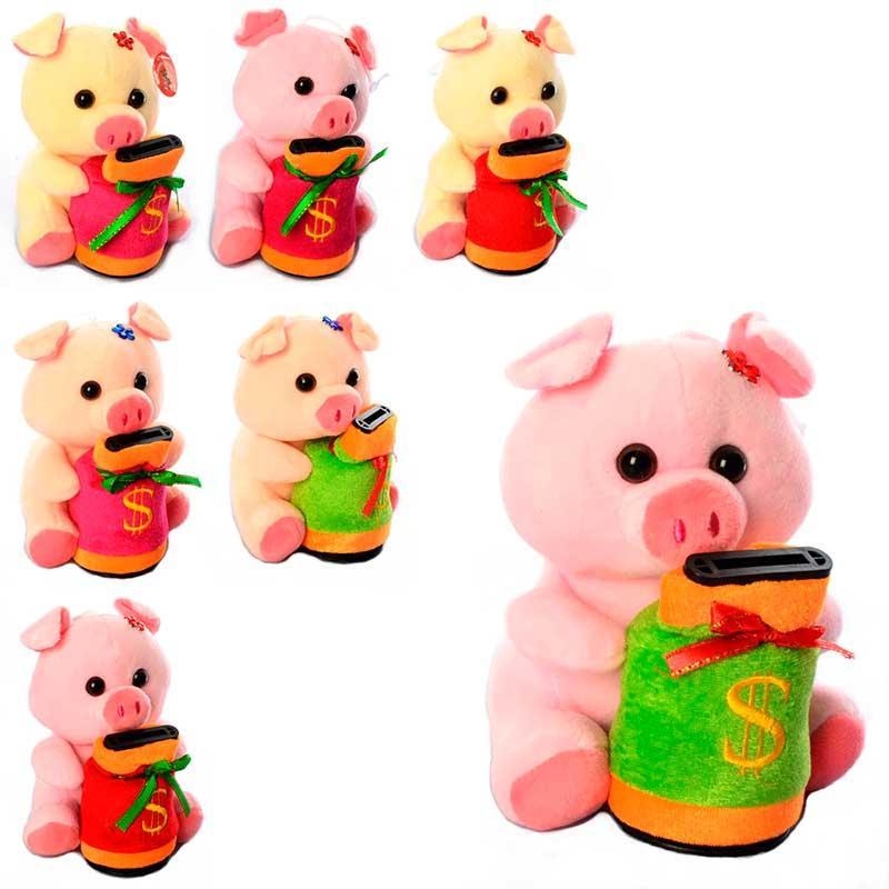 Мягкая игрушка копилка свинка МР 1688