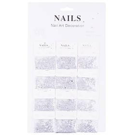 Конфети-пайетки для декора ногтей Nails №318(6-8)