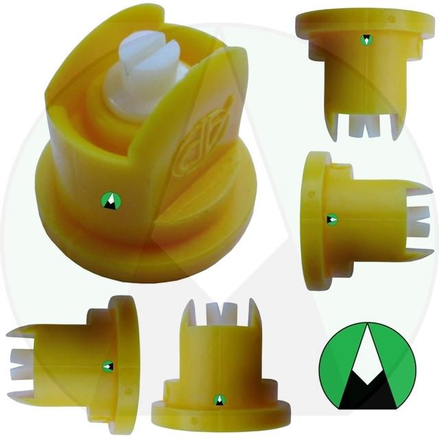 Распылитель опрыскивателя щелевой керамический 120C желтый 02 Agroplast - 225948 | AP120-02C AGROPLAST