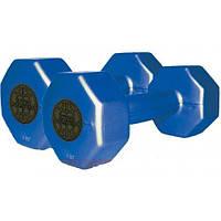 Гантели пластиковые цветные Inter Atletika ST 560.1-1 (1 кг)