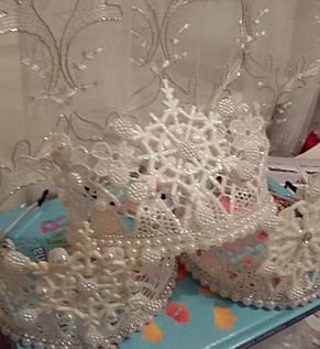 Дитяча новорічна корона Снігової Королеви ранок, фото 2