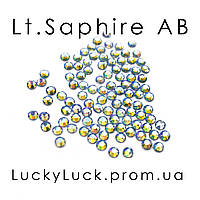 Стразы Swarovski Light Sapphire AB ss5 100шт.