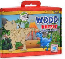 Пазл деревянный  Динозавр