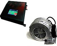 Автоматика для котла KA - 1 (с датчиком выплопа, 3 насоса, управление через Wi-Fi) + вентилятор WPA x2 , фото 1