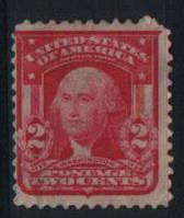 USA - Портрет Вашингтона 1903. 2 цента