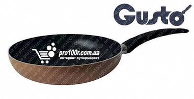 Сковорода 24 см Gusto XYLAN бежевая GT-2100-24/2