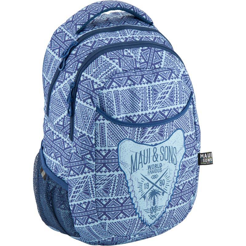 Рюкзак мягкий молодежный Kite Education Take'n'Go 690 г 45 x 30 x 21 см 28 л Голубой (K18-808L-1)