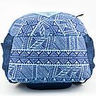 Рюкзак мягкий молодежный Kite Education Take'n'Go 690 г 45 x 30 x 21 см 28 л Голубой (K18-808L-1), фото 9