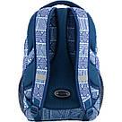 Рюкзак мягкий молодежный Kite Education Take'n'Go 690 г 45 x 30 x 21 см 28 л Голубой (K18-808L-1), фото 2