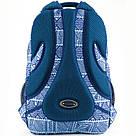 Рюкзак мягкий молодежный Kite Education Take'n'Go 690 г 45 x 30 x 21 см 28 л Голубой (K18-808L-1), фото 3