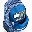 Рюкзак мягкий молодежный Kite Education Take'n'Go 690 г 45 x 30 x 21 см 28 л Голубой (K18-808L-1), фото 6