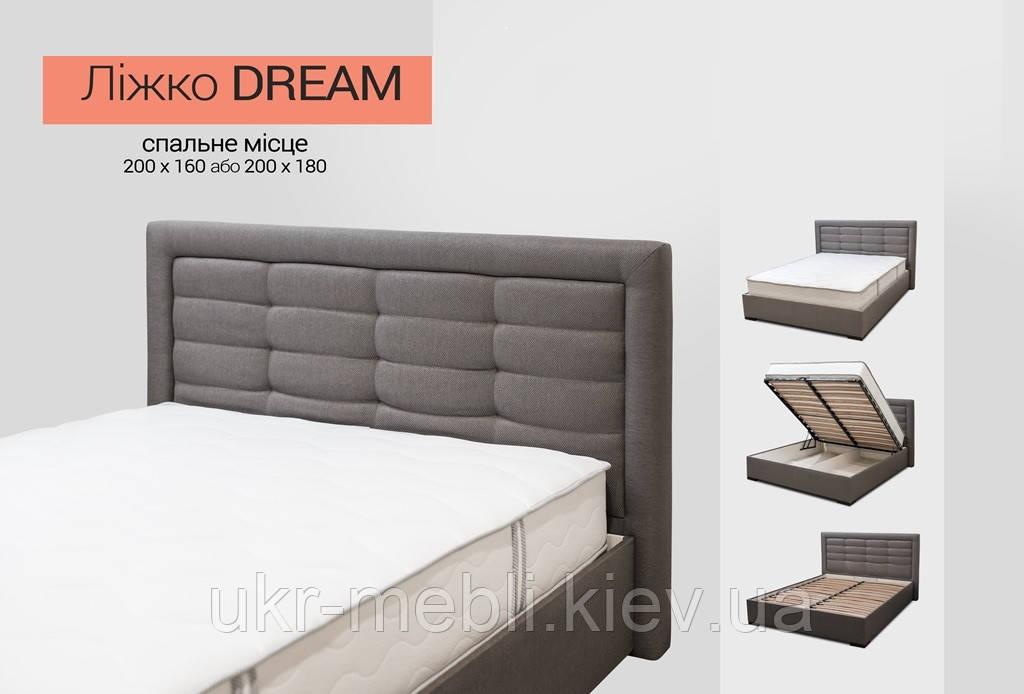 Кровать двуспальная с нишей Дрим 180, Даниро