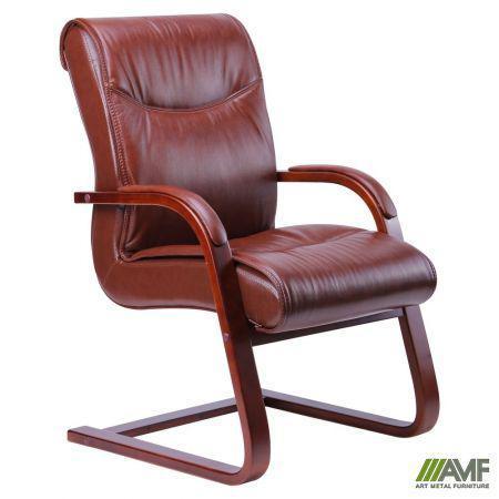 Крісло Montana CF, шкіра коричнева (619-D+PVC) AMF