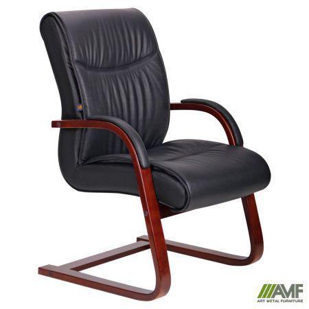 Крісло Montana CF, шкіра чорна (619-D+PVC) AMF