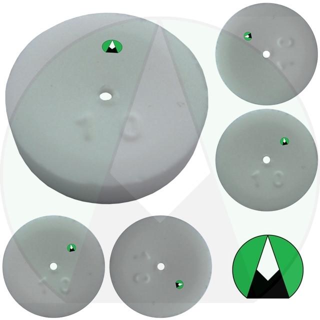 Дозатор распылительный садовой форсунки 1.0 мм Agroplast - 222138 | AP1646K_10 AGROPLAST