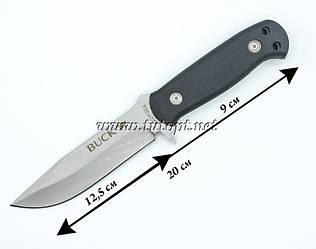 Нож для охоты и туризма Buck чёрный в чехле 547