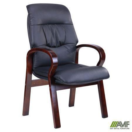 Крісло Лондон CF, чорний кожзам (625-D Black PU+PVC) AMF