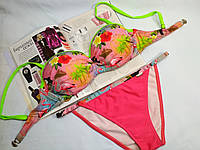 Раздельный купальник Self  фламинго, фото 1