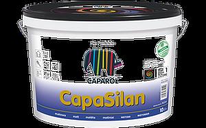 Матовая краска CapaSilan на основе силиконовых смол. Для стен и потолков при боковом скользящем свете