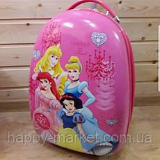 Детские чемоданы ручная кладь стандарт Josepf Ottenn Принцессы 0483-7\0378-1-4\1670, фото 3
