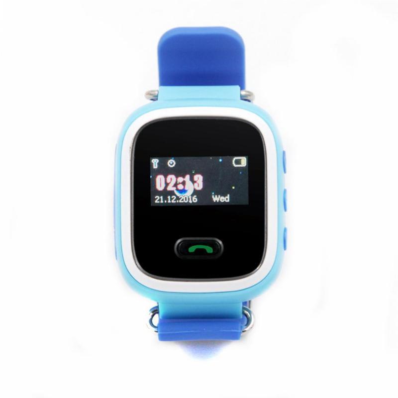 Детские смарт-часы GoGPS ME К11 Синий (К11СН)