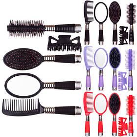 Набор расчесок для волос №214, 5 предметов