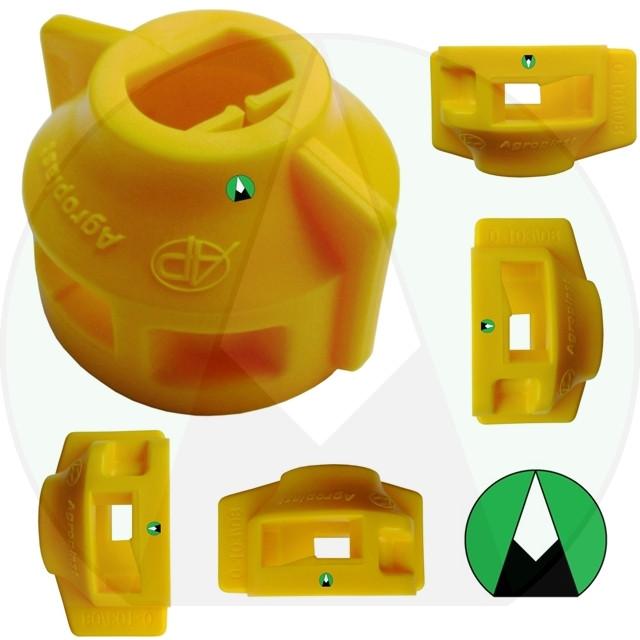 Колпак форсунки опрыскивателя ARAG желтый Agroplast - 220448 | 0-103/08_Z AGROPLAST