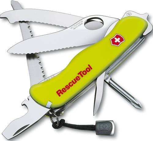 Многофункциональный складной нож Victorinox RescueTool 08623.MWN желтый