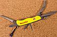 Складной нож Victorinox желтый, фото 7
