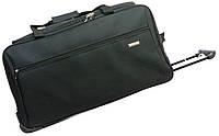 33586287cf5c Малая сумка на колесах, ручная кладь 40 л. Gravitt 19561 black, черный