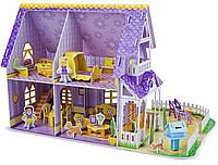 """3D пазлы Melissa & Doug """"Фиолетовый домик"""""""