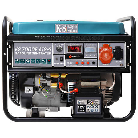 Бензиновый генератор Könner&Söhnen KS 7000Е - 3 ATS, фото 2