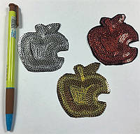 """Нашивки (аппликации) для одежды """"Яблочко"""""""