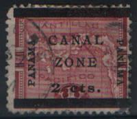 Зона Панамаского канала. Панама 1904