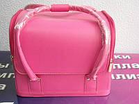 Бьюти-кейс. сумка для мастеров индустрии красоты Цвет - розовый
