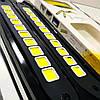 Дневные ходовые огни светодиодные LED 12V ДХО COB гибкий 10С белый комплект