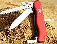 Надежный складной нож Victorinox Rucksack 08863 красный, фото 6