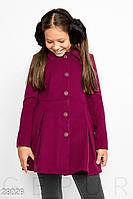 Приталенное кашемировое пальто Gepur 28026, фото 1