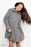 Приталенное детское пальто Gepur 28025, фото 1