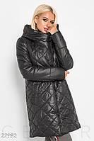 Теплое стеганое пальто Gepur 27992, фото 1