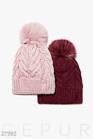 Женская вязаная шапка Gepur 27962, фото 1