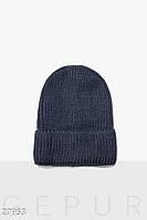 Женская вязаная шапка Gepur 27953
