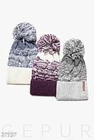 Вязаная шапка-косичка Gepur 27937, фото 1
