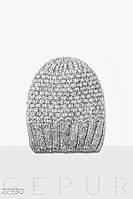 Теплая зимняя шапка Gepur 27930