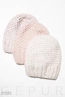 Удобная вязаная шапка Gepur 27933, фото 1
