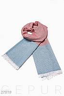Контрастный шарф-палантин Gepur 27919, фото 1