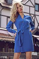 Эффектное платье-рубашка Gepur 27896, фото 1