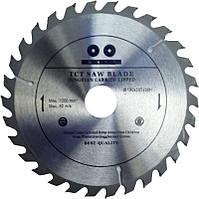 Круги циркулярные по дереву Inter Craft  350*32мм 40 зуба (c твердосплавными напайками)
